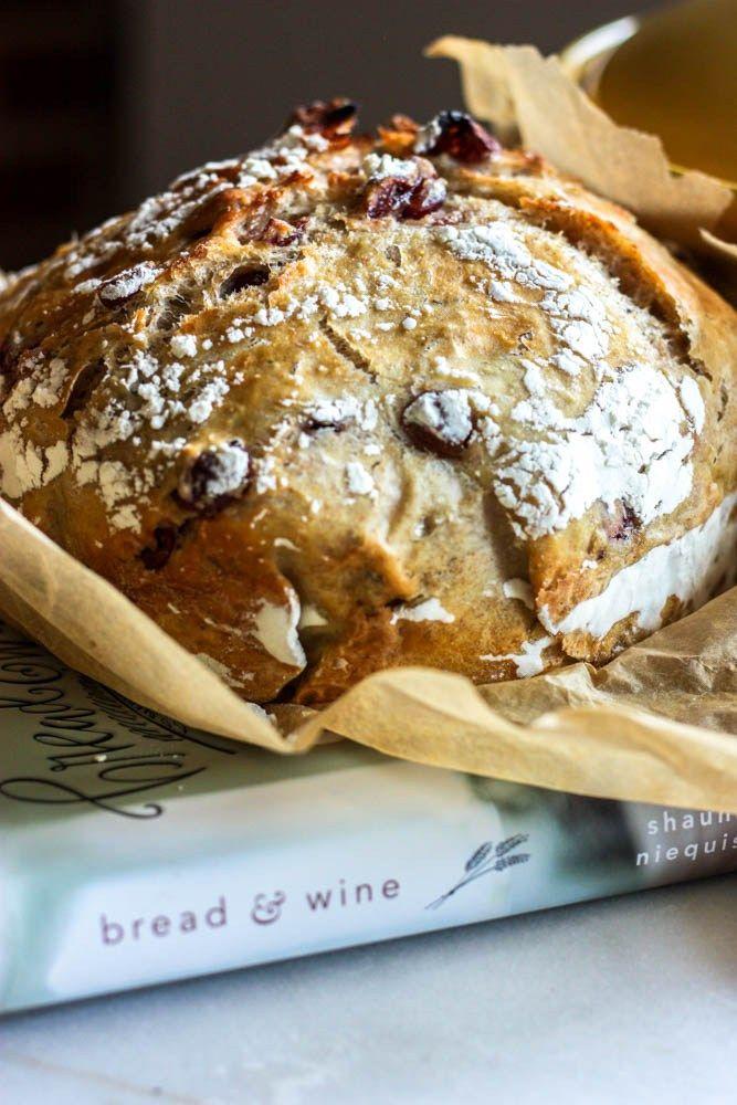 Cranberry Rosemary Magic Bread | Recipe | Bread, Dessert ...
