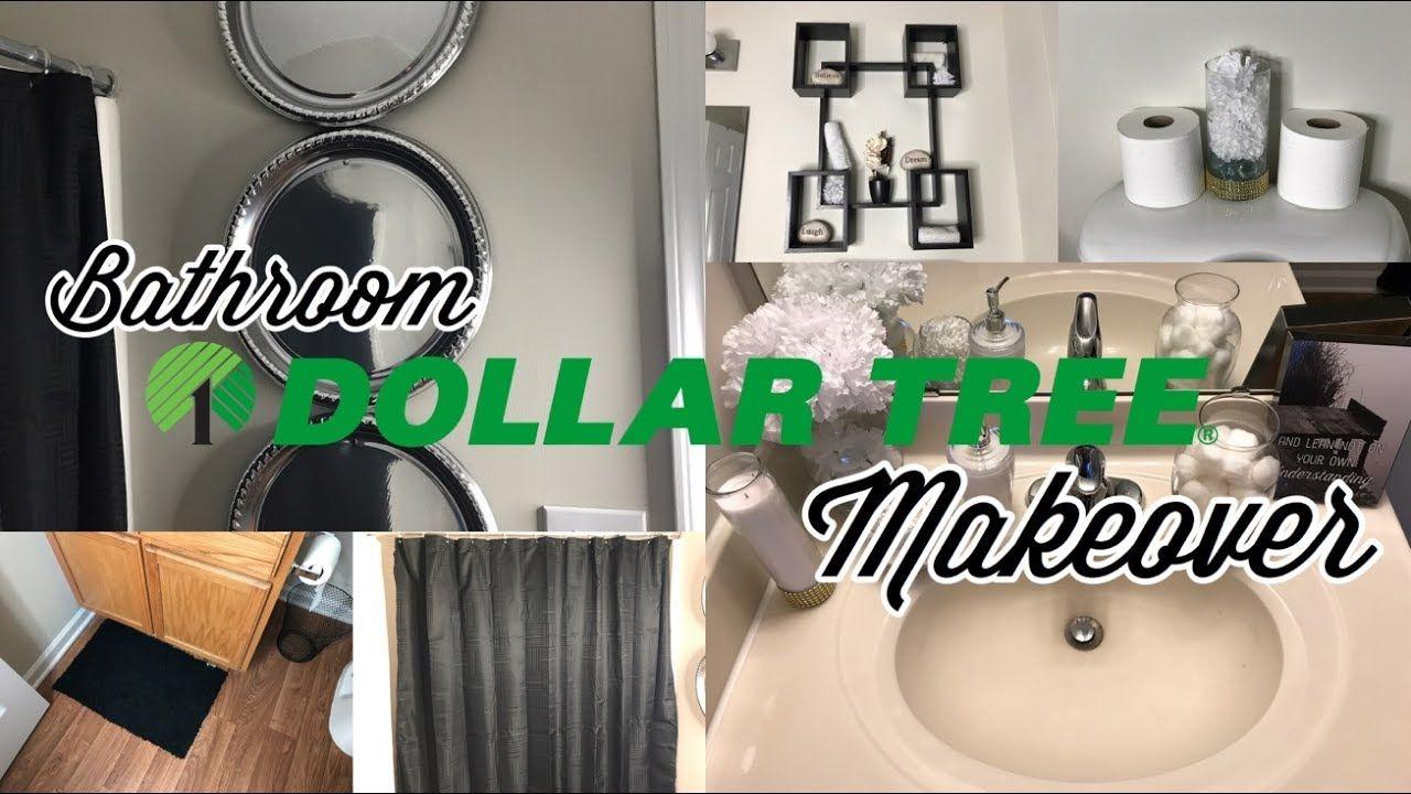 Elegant Dollar Tree Bathroom Makeover  Aleisha Nicolle - YouTube