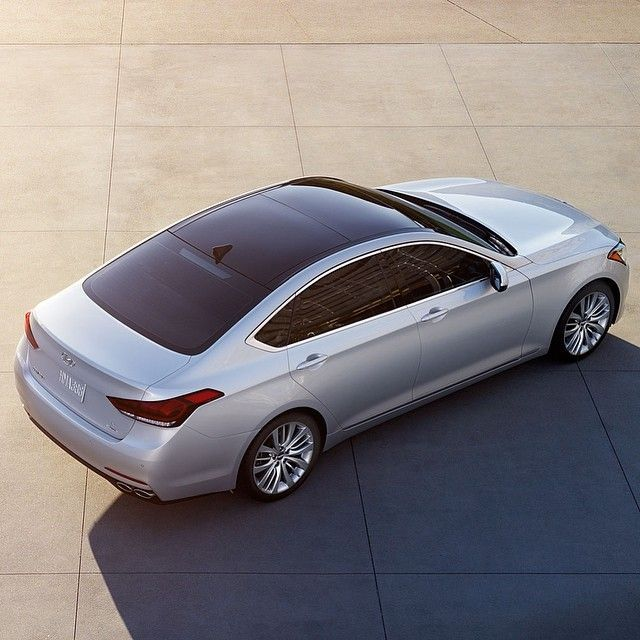What A View Hyundai Genesis Panoramic Roof Www Hileyhyundai Com
