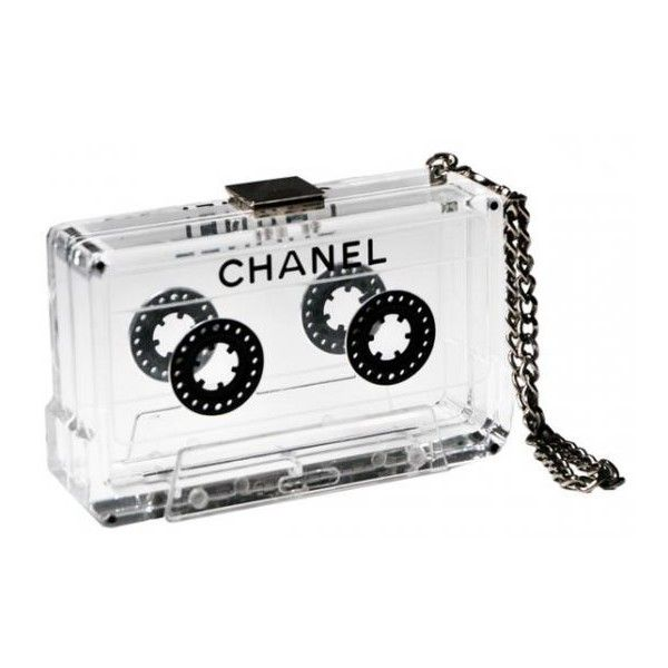 27697948b4ca Behold: The Chanel Cassette Clutch - PurseBlog found on Polyvore ...
