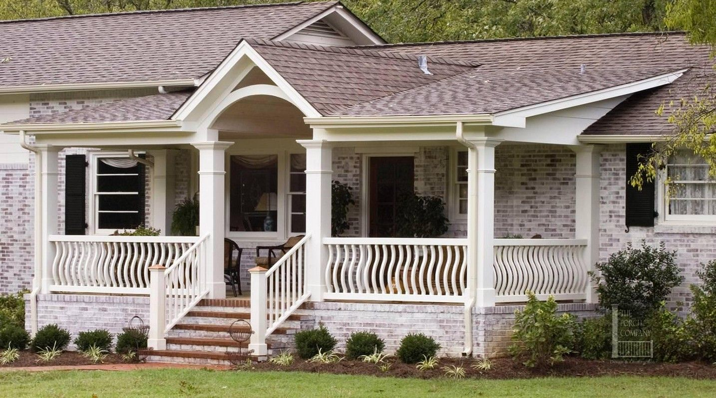 Front Porch Designs For Different Sensation Of Your Old House .