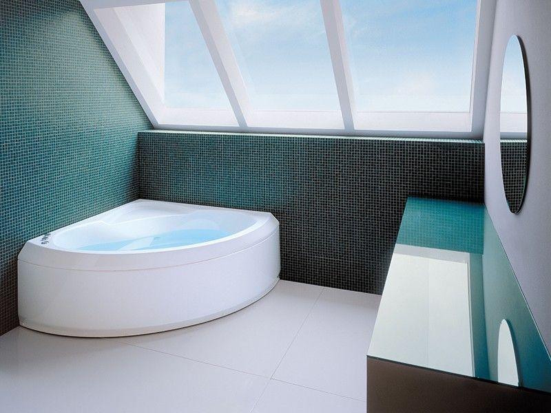 Jacuzzi broadway vasca idro 140x140 pan fr iperceramica vasche da bagno bathtub bathroom for Vasche da bagno jacuzzi