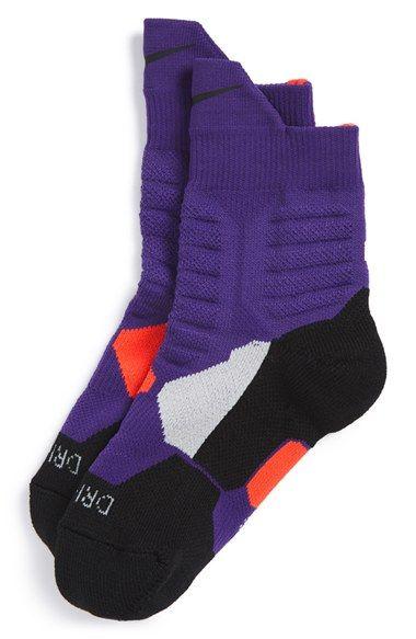 fbefdd55 Nike 'Hyper Elite' Dri-FIT High Quarter Socks (Big Kid) | Want in ...