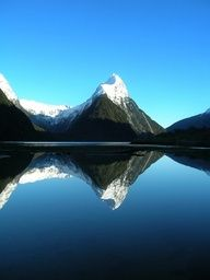 Milford Track, New Zealand. (done)