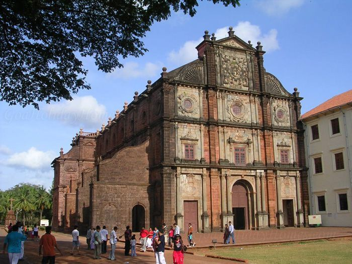 High Quality Goa India The Famous Churches Of Goa. Amazing Colonial Architecture From  The Portuguese Nice Design