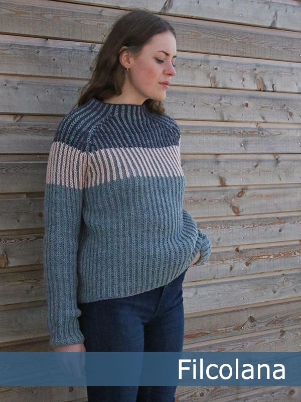 raglan sweater opskrift