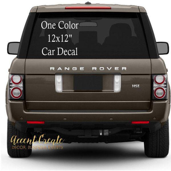 X Custom Car Decal Vinyl Decal Business Decals Vinyl Sticker - Custom car business stickers