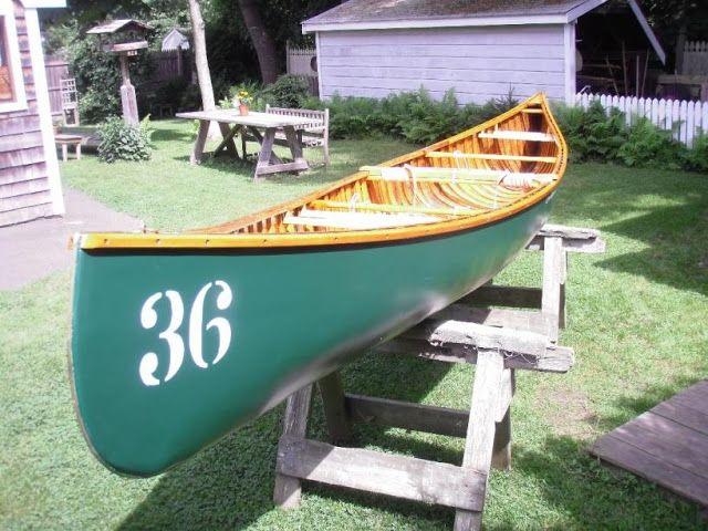 Restored Chestnut Cruiser - Keewaydin Campe Canoe # 36
