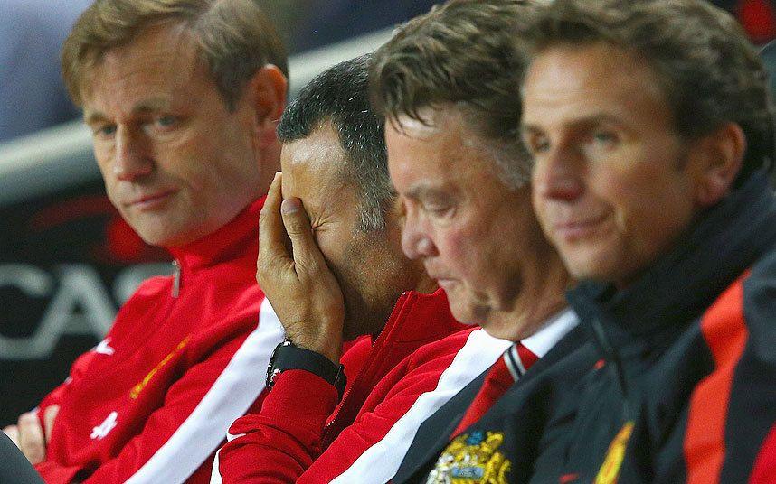 Manchester United Shambles As Louis Van Gaal's Men Crash