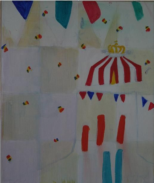 circus 2012  5 ft x 6 ft   available as prints and cards