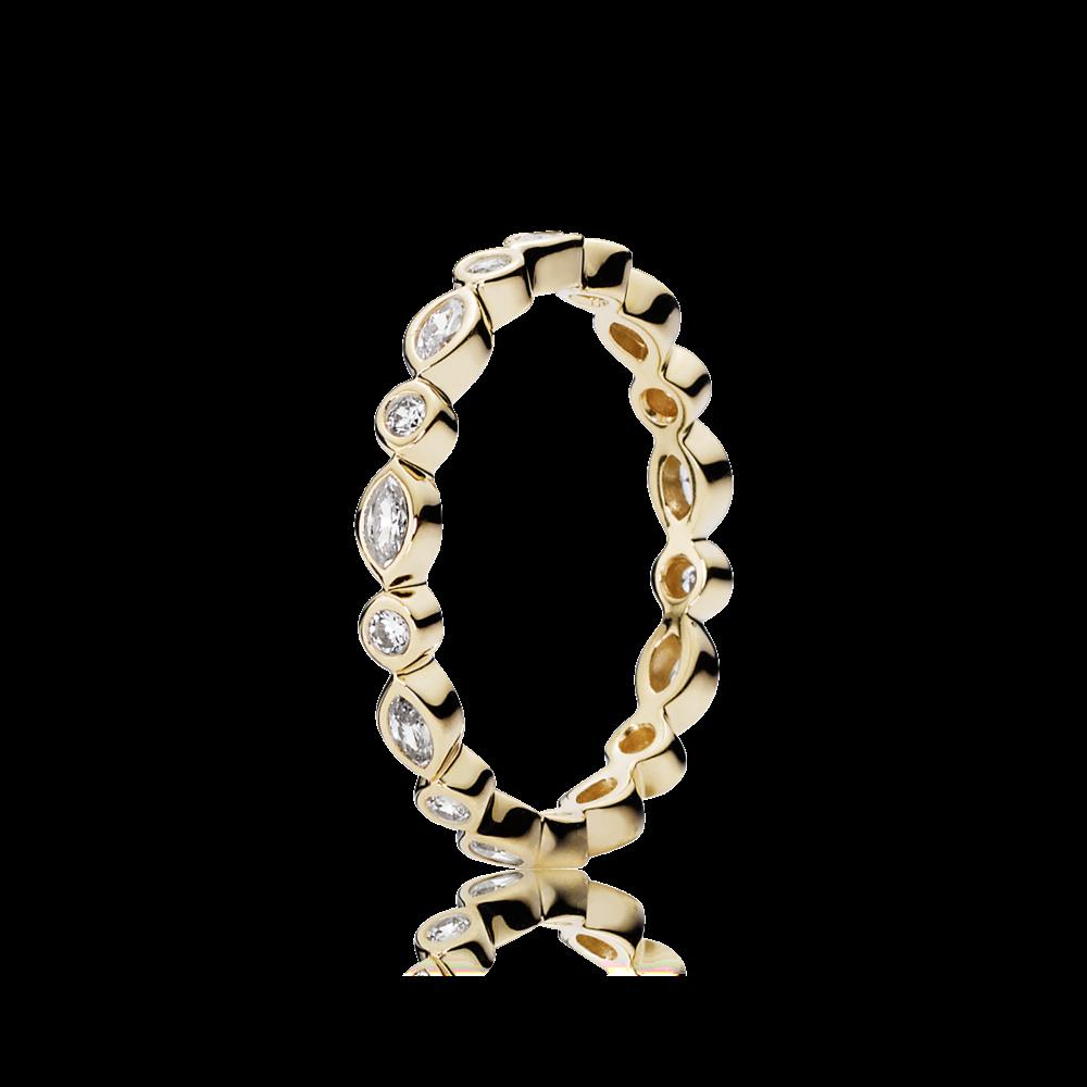 Kreise & Ellipsen Ring Gold - Pandora DE | PANDORA eSTORE