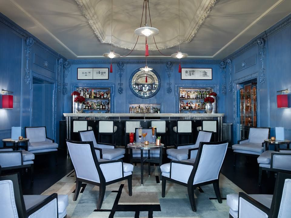 Blue Bar at The Berkeley by David Collins