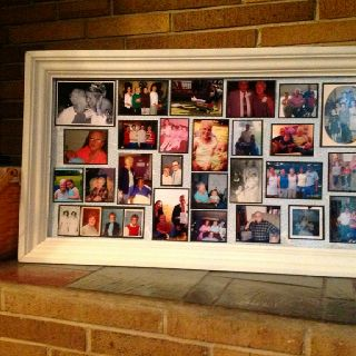 Memory Board Photo Display For The Home Pinterest