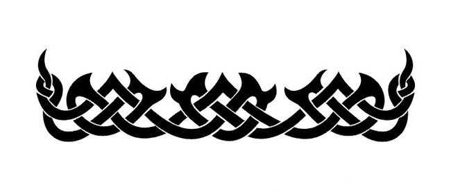 Large Tribal Celtic Arm Band Tattoo Tattoo Tabatha Arm Band Tattoo Band Tattoo Celtic Band Tattoo