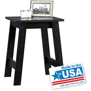 Sauder Beginnings Collection Side Table Black Just Paint It Over