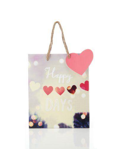 Medium Happy Days Gift Bag - Marks Spencer