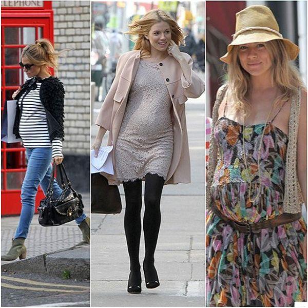 size 40 5090e 28c03 Looks de primavera para embarazadas A la última, Celebrities, Weblog - El  Rincón de Moda