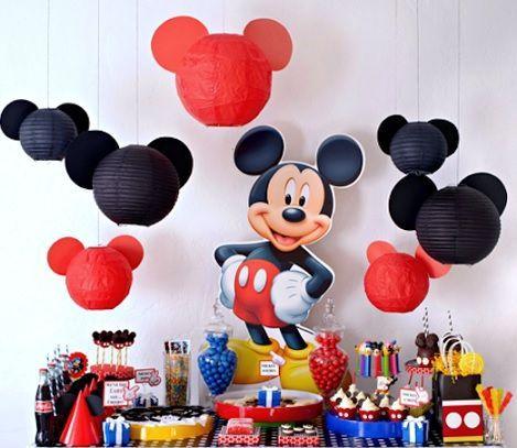 ideas para un cumpleaos de mickey mouse casero