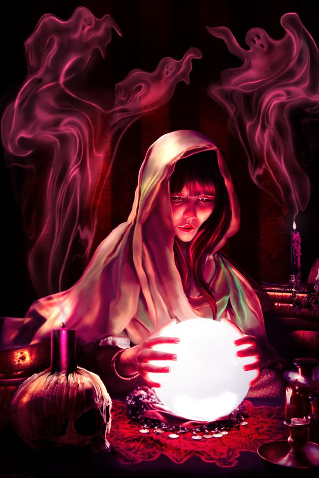 Fantasy art] The Fortune Tellers Daughter by sabarlynn at
