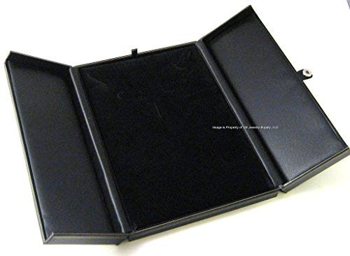 Black Earring Ring Necklace Bracelet Combo Gift Box Display ** You can find out more details at the link of the image.