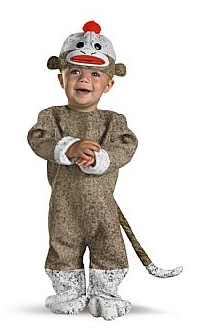 Toddler-Boys-Too-Cute-To-Spook-Sock-Monkey-  sc 1 st  Pinterest & Toddler-Boys-Too-Cute-To-Spook-Sock-Monkey-Costume-Outfit ...