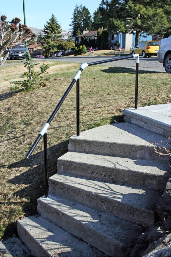 Best Railing For Concrete Steps With Images Concrete Steps 640 x 480