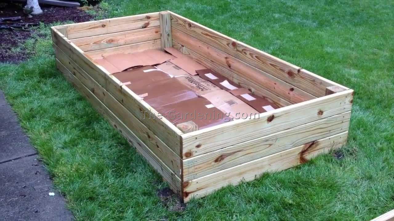 Inexpensive raised garden bed ideas raised - Cheap flower bed ideas ...