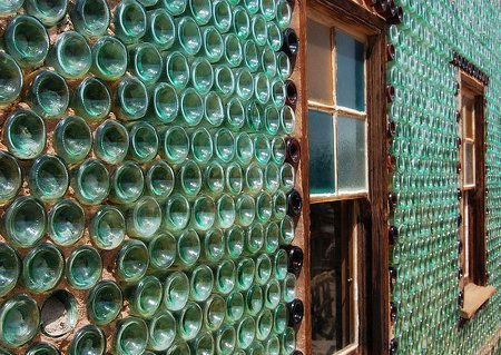 Upcycled Houses Built from OldPlastic Bottles