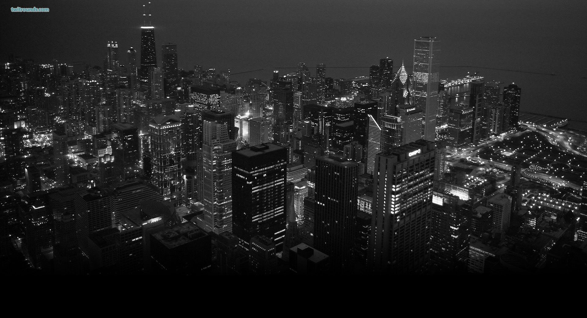 Chicaggo Black And White Wallpaper Chicago Wallpaper City Wallpaper