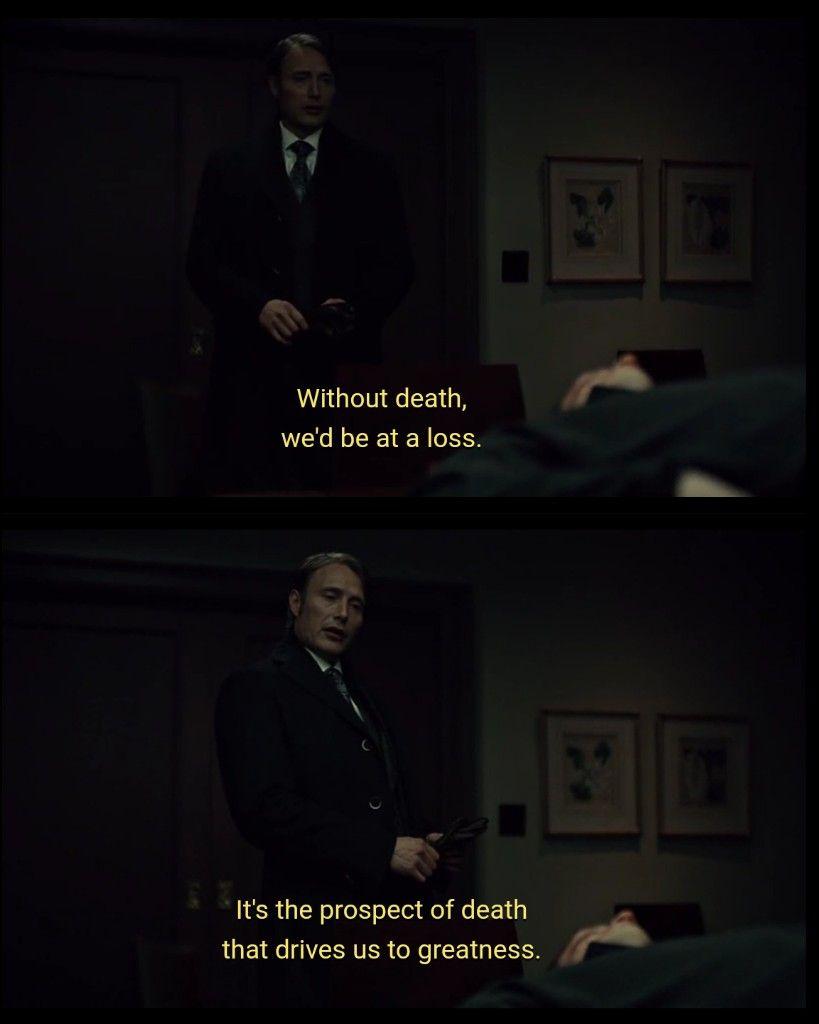 Hannibal S02 Hannibal Quotes Hannibal Series Hannibal