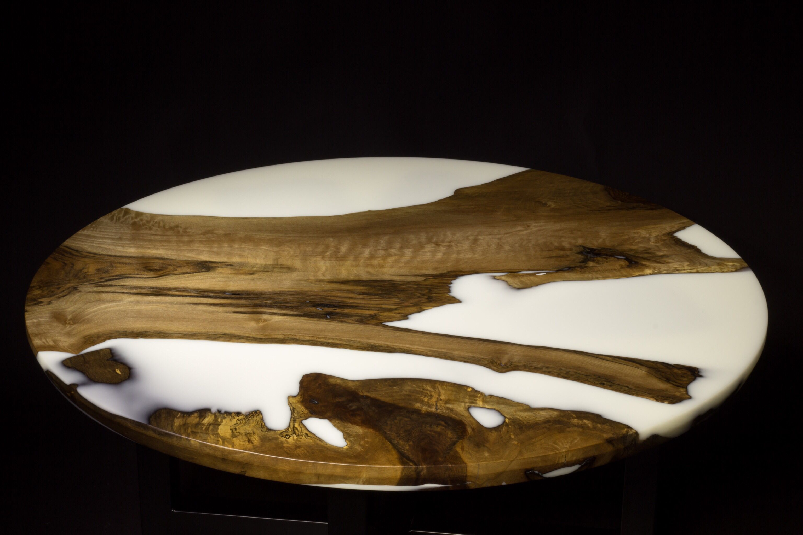 Pale Horse White Resin Coffee Table Blacktail Studio Wood Resin Table Resin Table Epoxy Resin Table [ 2049 x 3072 Pixel ]