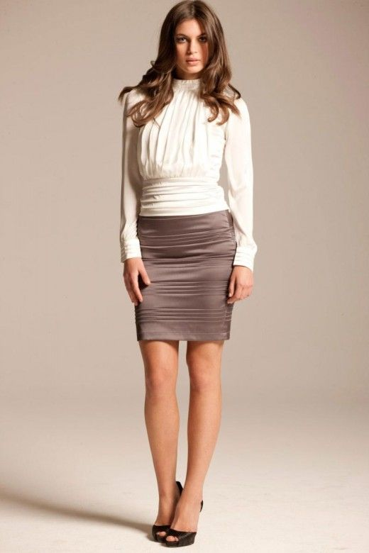 pencil skirt outfits for teenagers - Google Search | Pencil Skirt ...