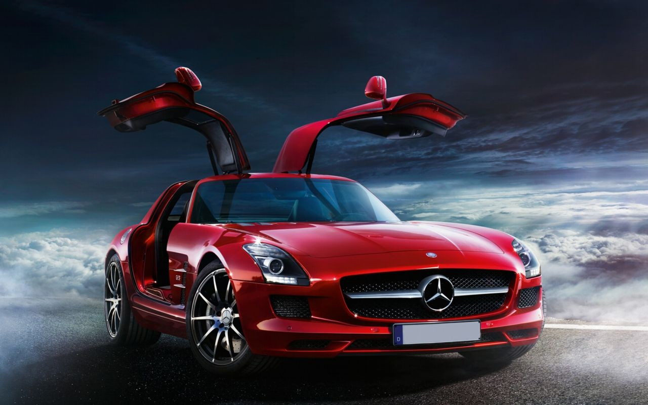 Don't drive me home fly me there. Mercedes sls, Mercedes