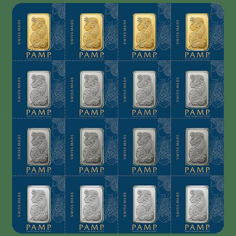 Pamp Suisse Multigram Portfolio 2 5 Gram Bars Gold Bars For Sale Silver Bullion Gold Bullion Bars