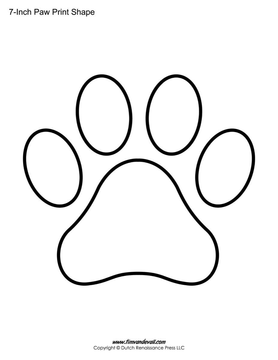 graphic relating to Printable Paw Print identify Pin upon paw patrol