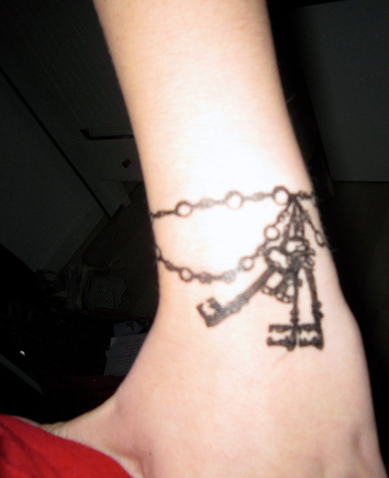 belle tattoos idea like pin tattoo key pens charm bracelet anklet pinterest maisie the