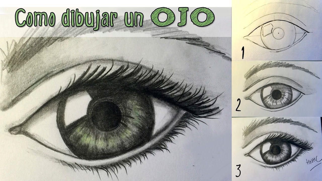 C mo dibujar un ojo realista aprender a dibujar paso a for Como pintar un ojo