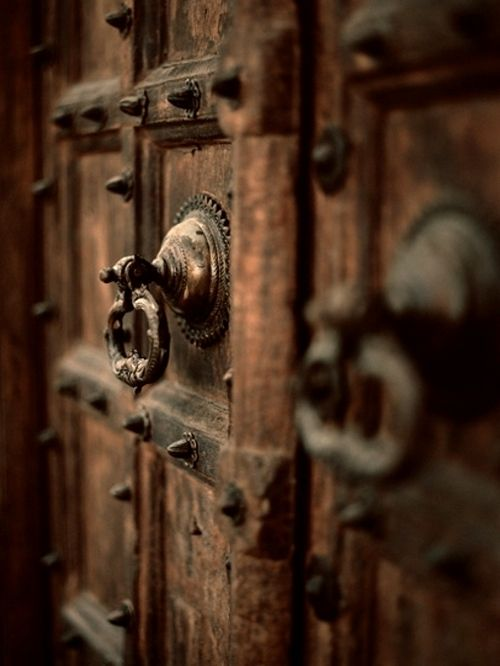 Chocolate Brown Ancient Door Handle Tiradores De Puerta Picaportes Puertas