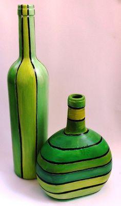 Encontrá Botellas pintadas desde $200. Decoración y más objetos únicos recuperados en MercadoLimbo.com.