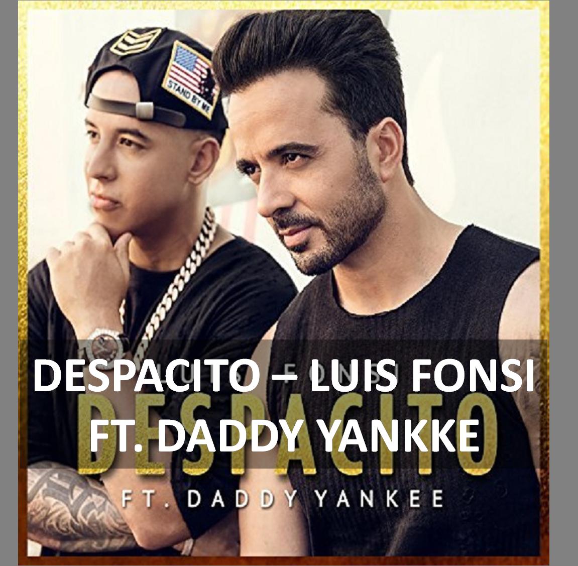 Despacito Guitar Chords Lyrics By Luis Fonsi Ft Daddy Yankee