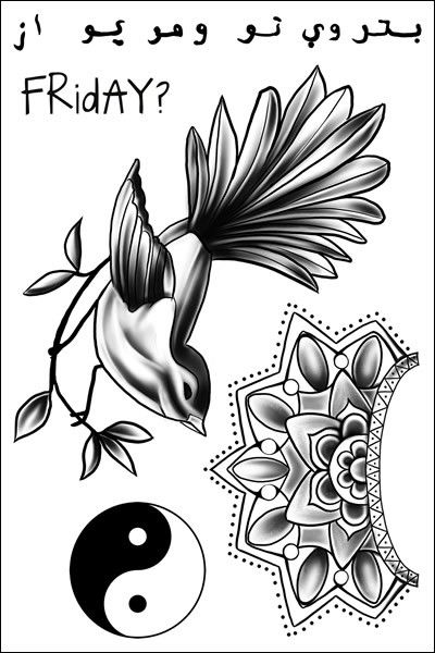 Zayn Malik Temporary Tattoos