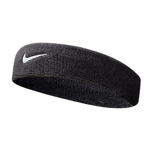 New Nike Swoosh Tennis Squash Badminton Gym Headbands Sports Sweat Bands Black Jean Aksesoris Olahraga