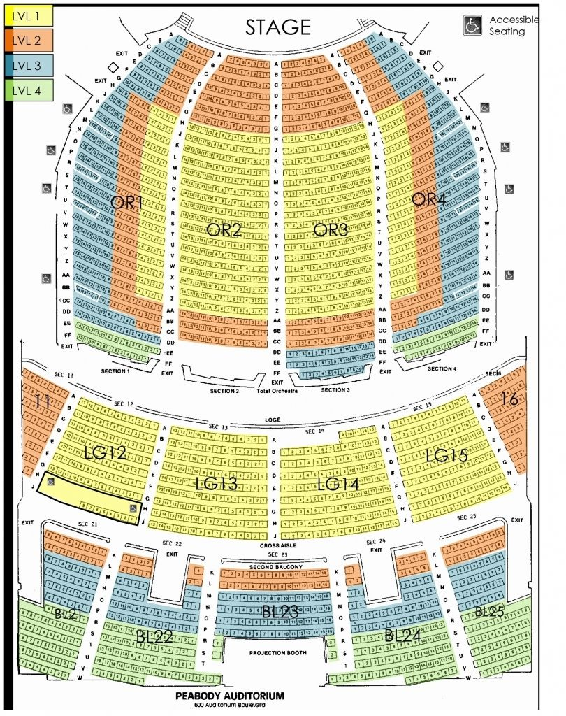 San Francisco Opera Seating Chart Di 2020