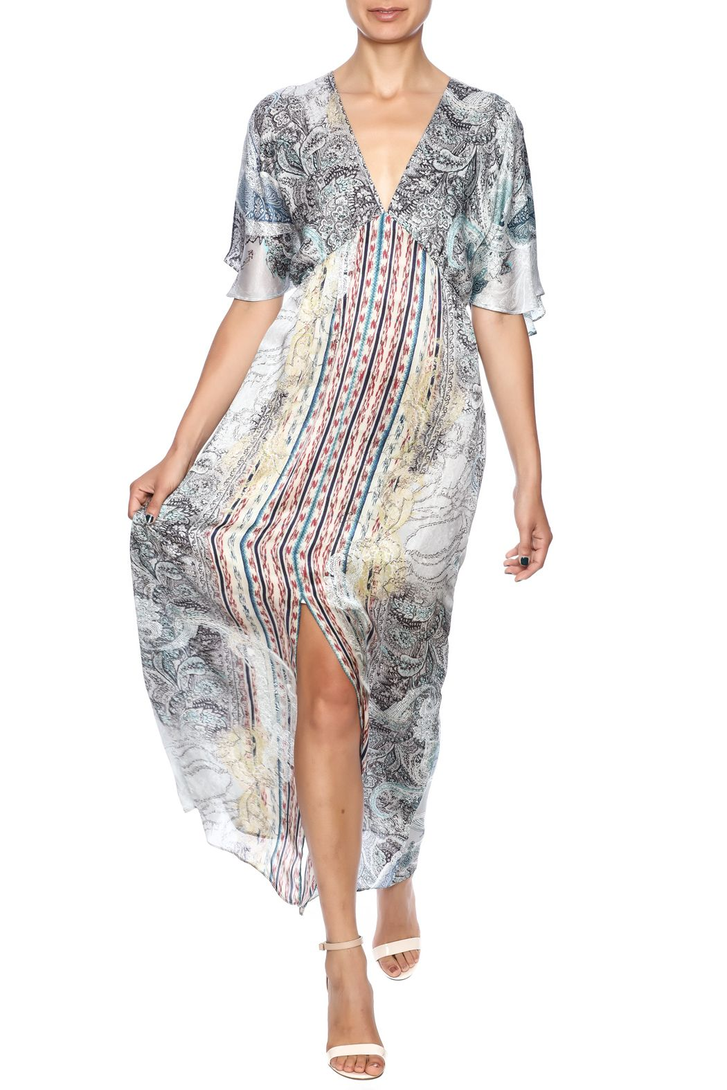 Single willow flutter dress maxi dress styles and boutique