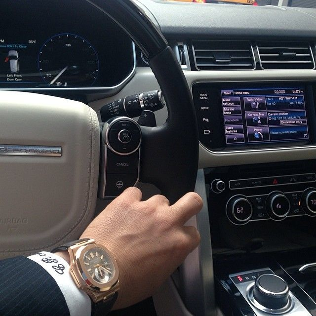 2014 Range Rover And Patek Philippe 5980r Nautilus Luxury Watch A