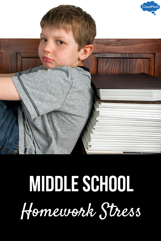 Do middle school students have too much homework