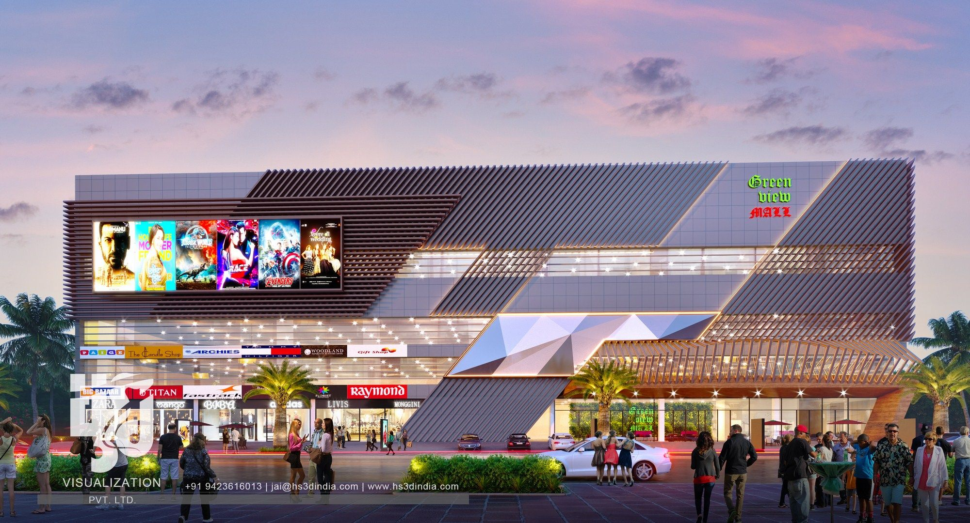 Top Commercial Mall Designs Animation Visualizations Shopping Mall Architecture Mall Design Mall Facade
