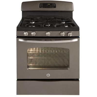 Ge Adora 5 Cu Ft Gas Range With Self Cleaning Convection Oven In