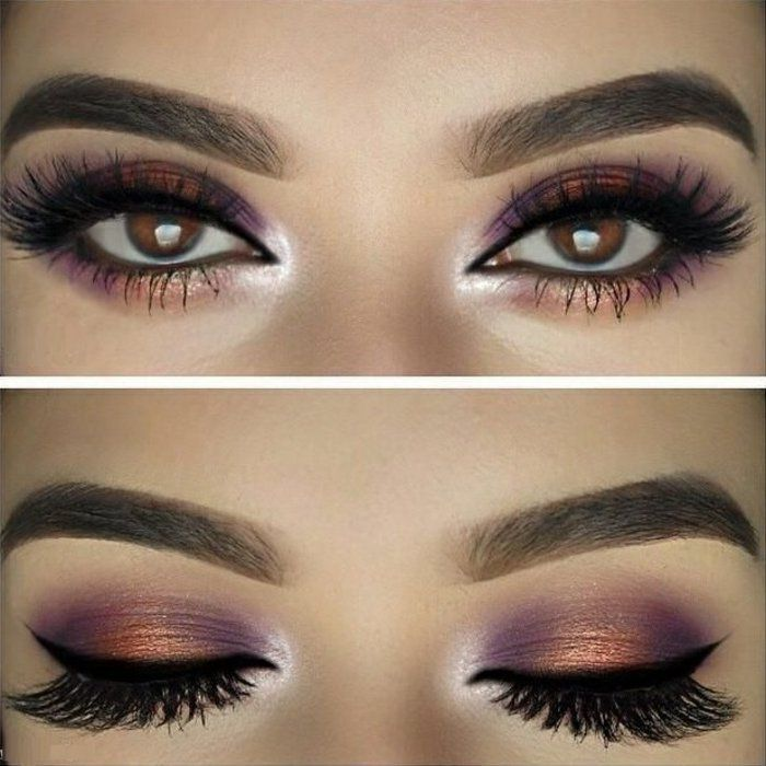 Le maquillage yeux marron soir e maquillage yeux marron pinterest maquillage yeux marrons - Maquillage de soiree yeux marron ...