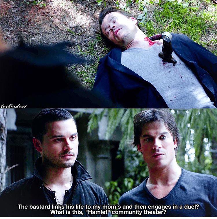 """#TVD 7x07 """"Mommie Dearest"""" - Enzo, Damon and Julian"""